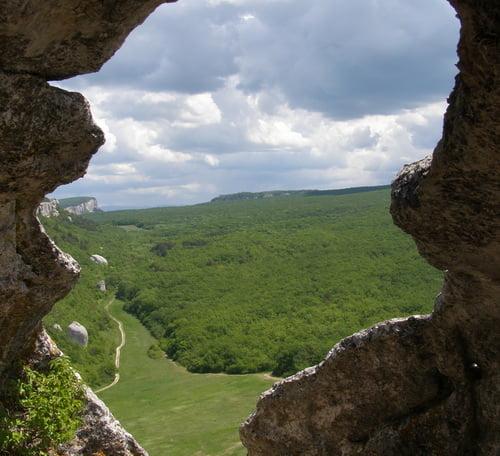 пещерный город инкерман фото