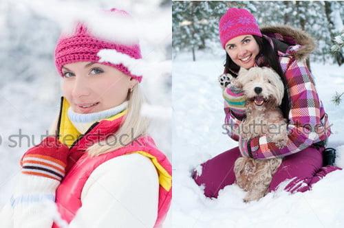 Фото идеи длясессии зимой
