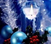 свечи новый год