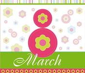 открытки 8 марта