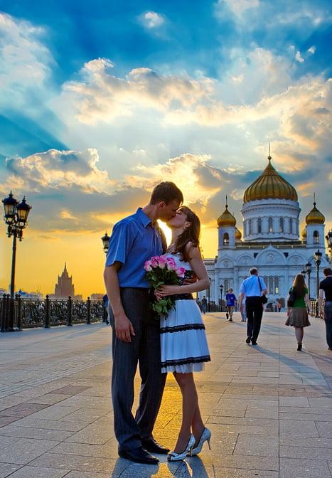Фотосессия на улицах москвы места