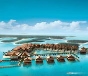 The Palm Jumeirah, и The World