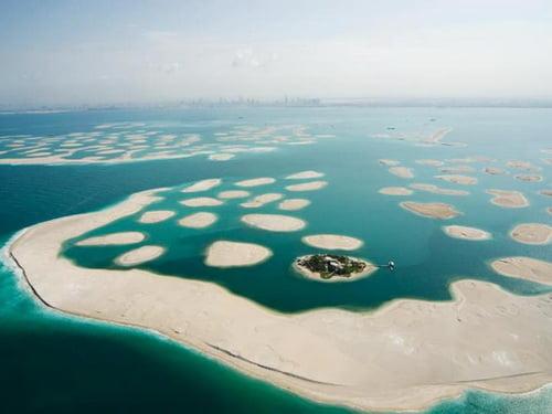 Рукотворный архипелаг мир