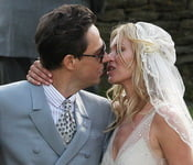 Kate Moss and Jamie Hince's wedding Southrop, Gloucestshire