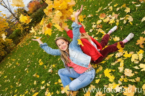 Осенние фотосъемки на природе