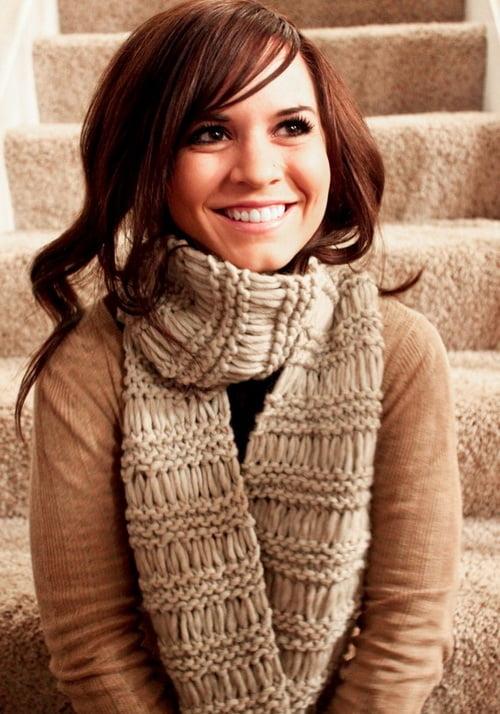 вязание шарфов схемы