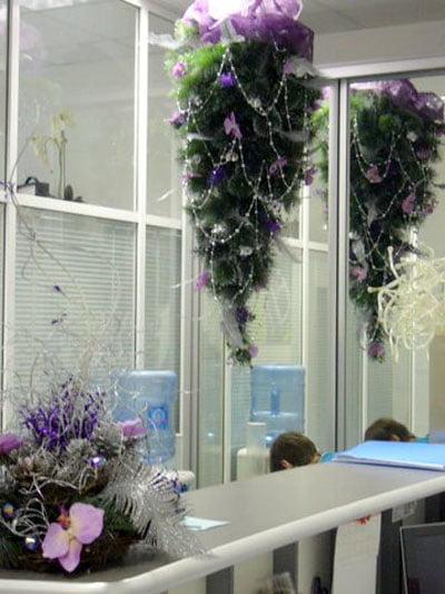украсить кабинет на новый год
