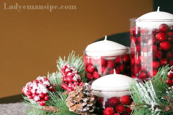 Новогодние свечи сделать своими руками