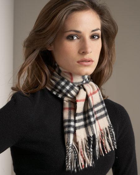 модные способы завязывания коротких шарфов: