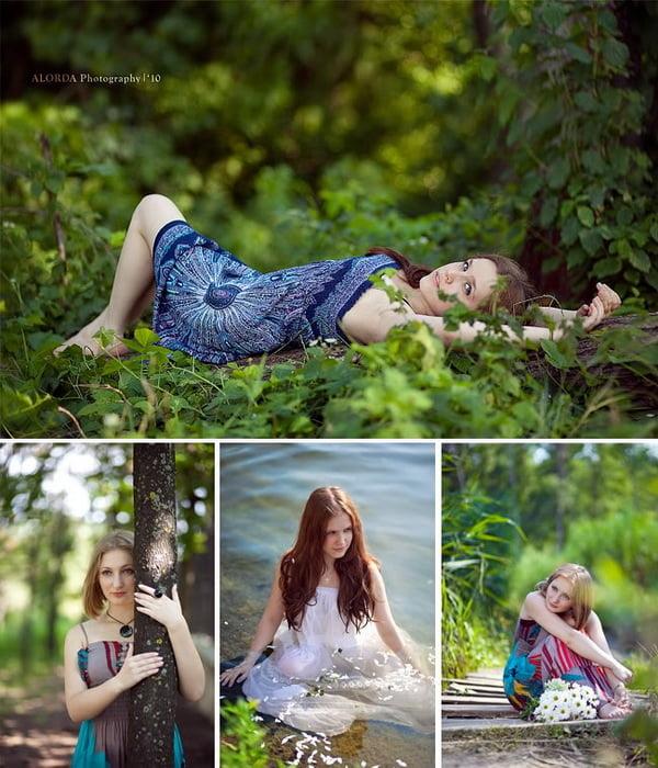 Идеи для фото на природе фото