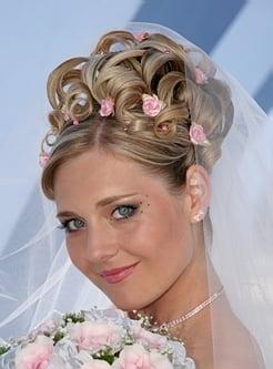 Свадьба прическа для невесты