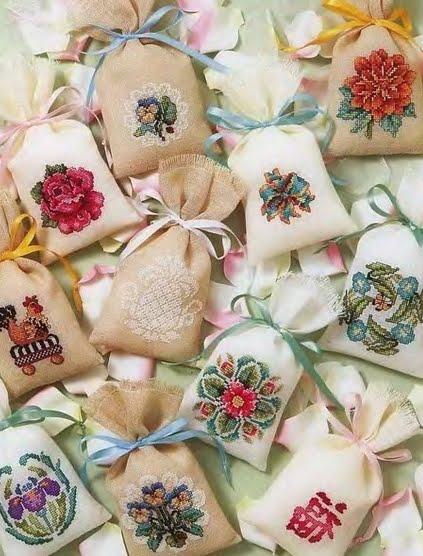 Мешочки для саше своими руками