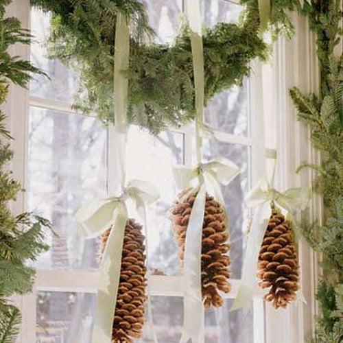 Новогодние украшения для дома своими руками фото из бумаги
