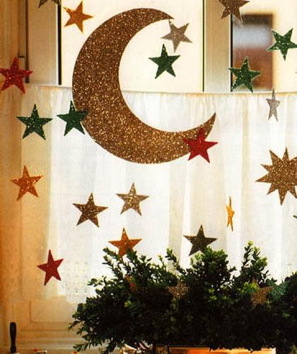 Красивые украшения для дома на новый год