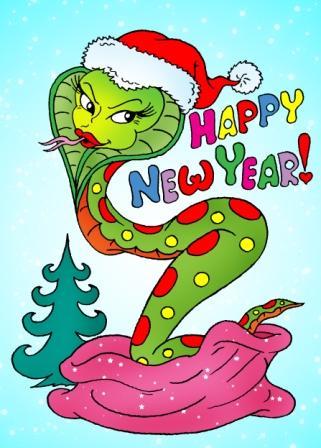 Год змеи открытки своими руками