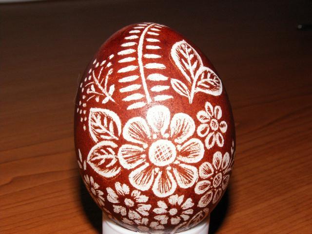 Как сделать узоры на яйце - NikeCRM