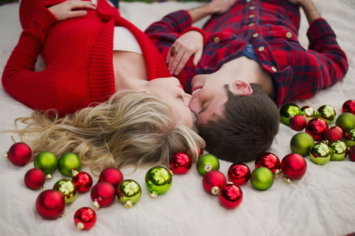 Идеи новогодних фотографий love-story