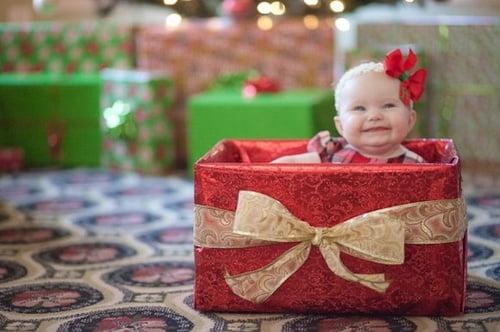 Идеи для новогодней фотосессии малышей